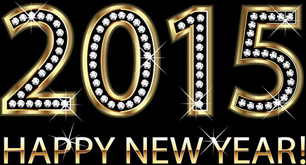 diamond with gold15 new year background