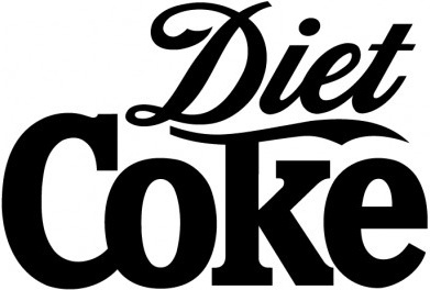 diet coke illustration vector