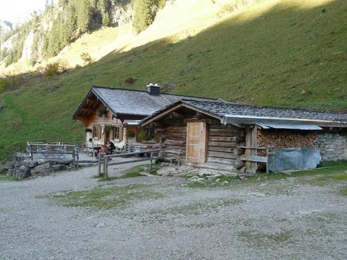 dieter bach alpe alpe hut