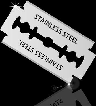 different blades design elements vector set