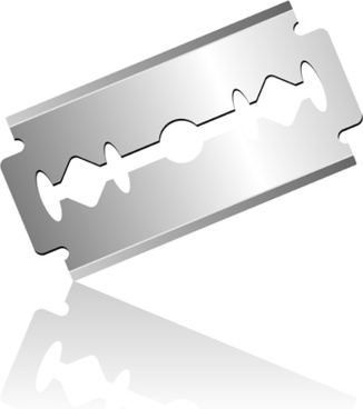 Razor blade free vector download (133 Free vector) for commercial