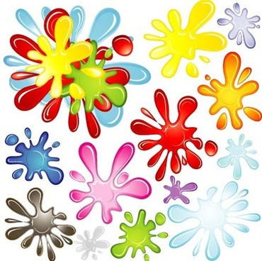 different colors of rainbow backgrounds vector
