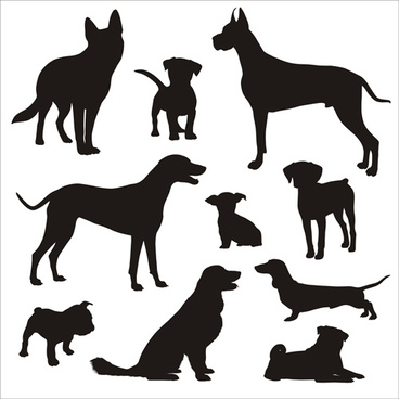 dog silhouette free vector download 6 097 free vector for rh all free download com dog head silhouette vector dog head silhouette vector
