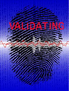 different fingerprints design elements vector