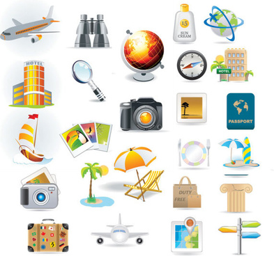 different life icon vector