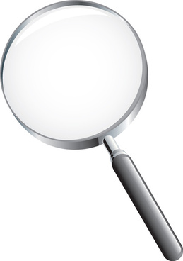 different magnifier vector elements