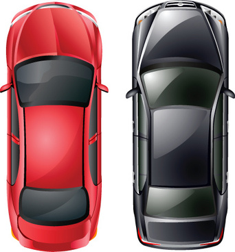 different model cars vector graphics