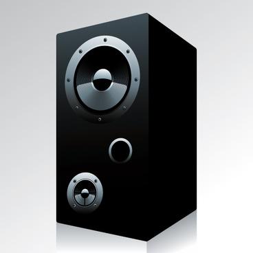 different speaker system design vector set