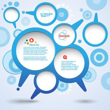 different speech bubbles backgrounds