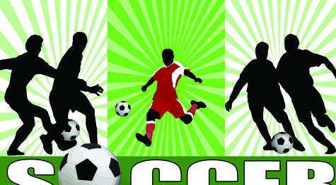 different sports elements design vector