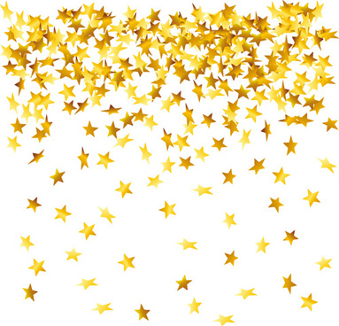 different stars vector backgrounds set