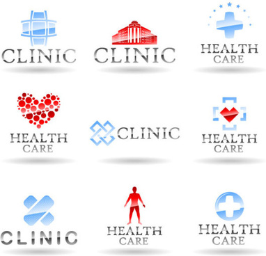 different style of logos design elements vector