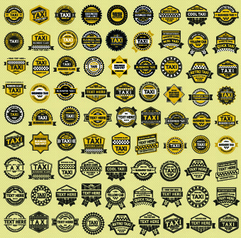 different taxi labels vector
