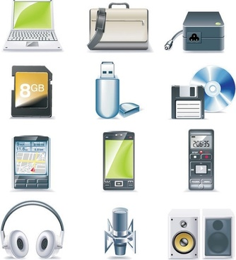 digital equipment icon vector