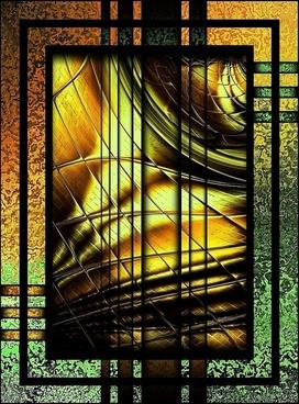 digital painting glass