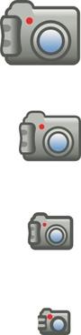 Digital Photo Camera Icon clip art