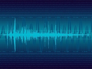 digital sound wave vector