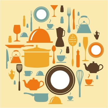 Dining Icon Set