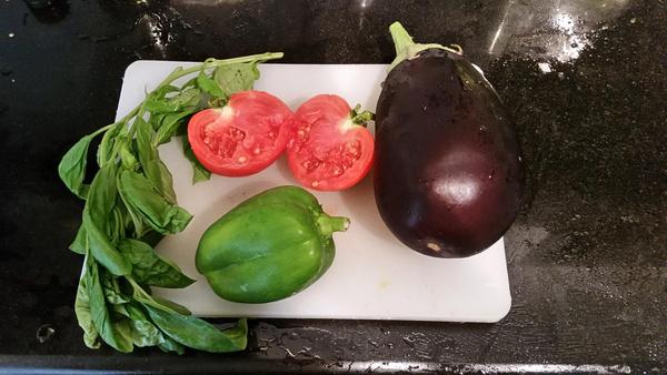 dinner ingredients