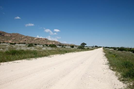 dirt road gravel road lonely