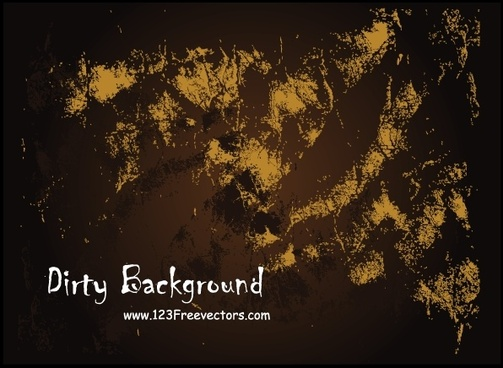 Dirty Free Vector Background