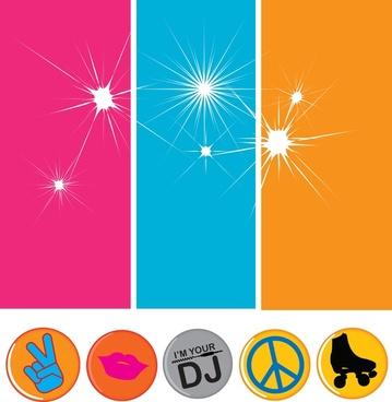 disco flavor vector