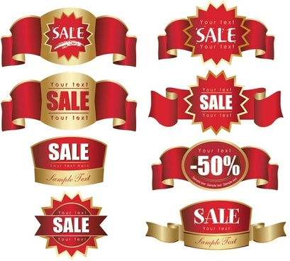 discount label sales vector