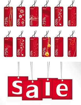 discount sales tag tag vector