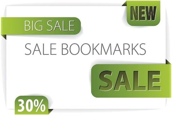 discount sales vector decorative