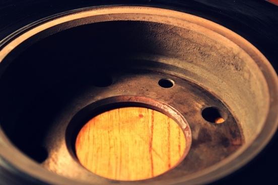 disk metal old
