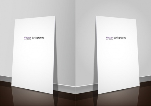 exhibition display boards template elegant 3d sketch