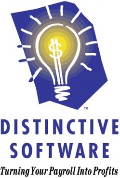 distinctive software vector logo
