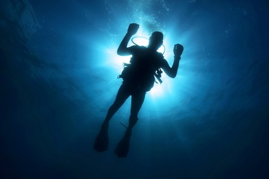 diver light diving