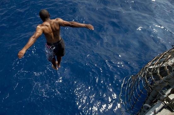 diving swim swimming