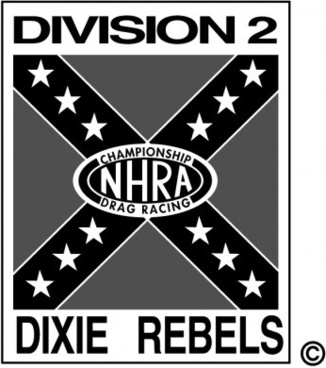 division dixie rebels logo vector