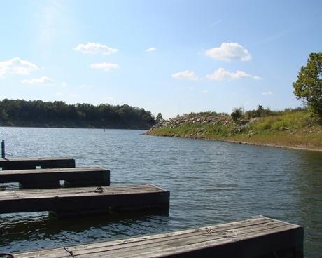 docks at the marina