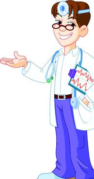 doctor design elements vector