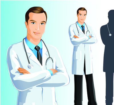 doctor design elements vector