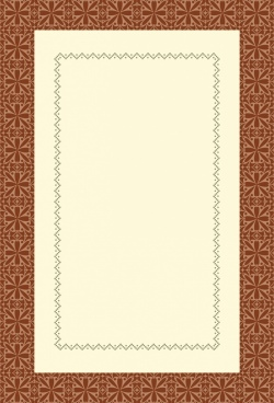 document border template seamless symmetric dots decor