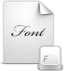 Document Font