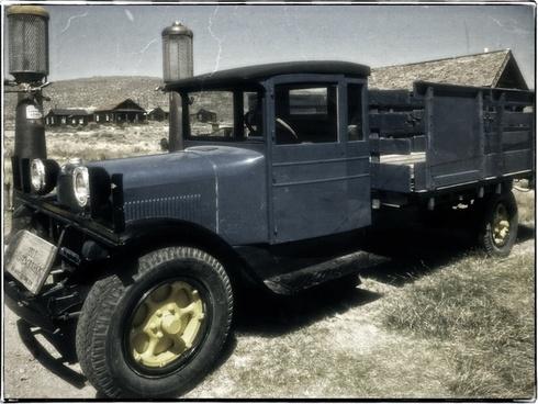 dodge graham truck automobile old