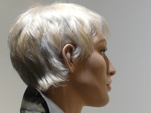 doll display dummy face