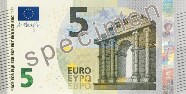 dollar bill 5 euro money