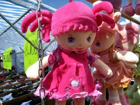 dolls market colors