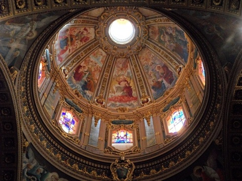 dome church dome painted