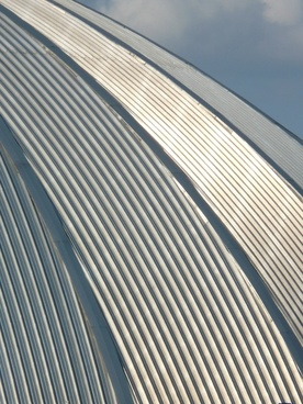 dome domed roof metal