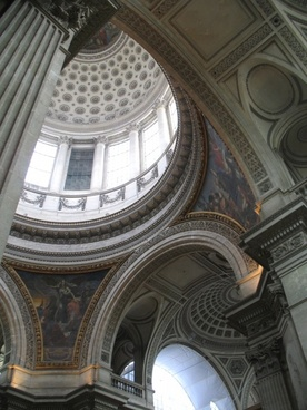 dome in the panthon
