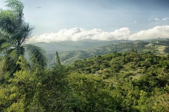 dominican republic landscape scenic