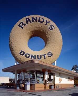 donut randy's donuts shop