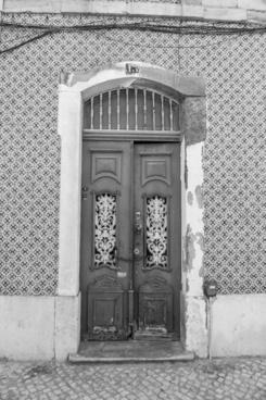 door facade wood